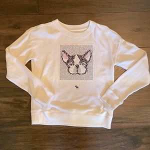 ABERCROMBIE KIDS Frenchie Sweatshirt 🦴